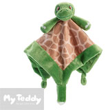 My Teddy snuttefilt, My Turtle, grön