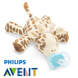 Philips Avent ultra soft snuggle, giraffe